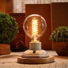 vintage ceramic lamp edison desk lamp 40W personality decoration retro bedside light for bedroom table light lamparas de mesa(China (Mainland))