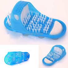 Shower Feet Cleaner Scrubber Bath Brush Massager Bristles Easy Health Slipper 6259 ZpIs