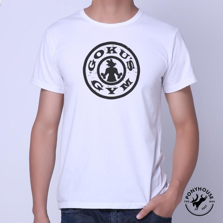Гаджет  2015I AGP INE DRAGON BALLZ alumni send dragon ball GOKU GYM short sleeved T-shirt male None Изготовление под заказ