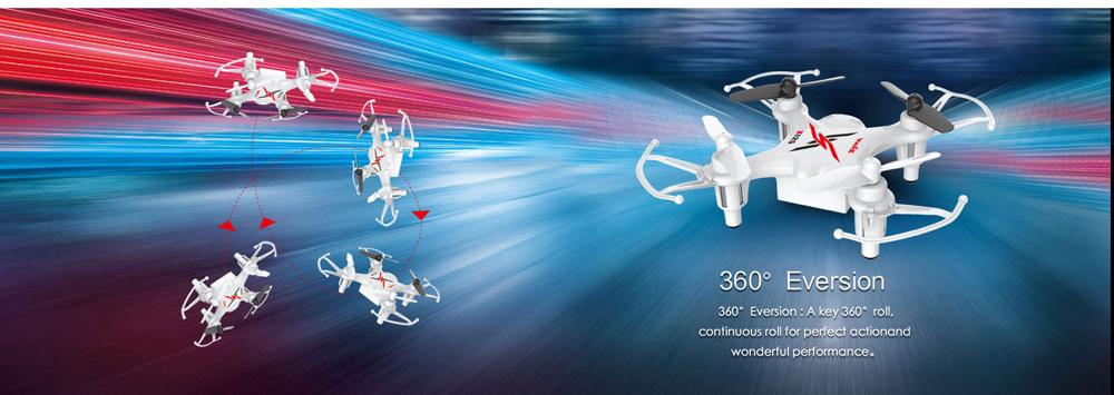 Free shipping SYMA X12 Nano Explorers 2.4G 4CH 6 Axis RC Quadcopter RTF Micro Quad Copter Airplane