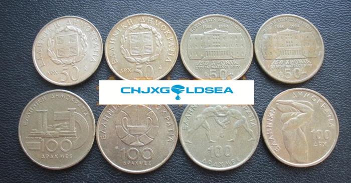 Greek Olympics 8pieces/ Set UNC original Coin free shipping(China (Mainland))