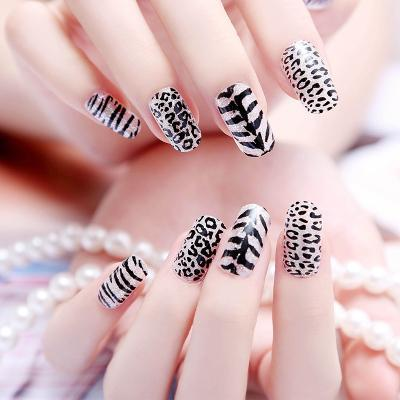 2015 Minx Fashion Nail Art Sticker Manicure Water Transfer Foil Nail Wraps Decal Sexy Leopard Design Nail Gel Glitter Stickers(China (Mainland))