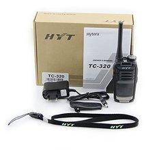 NEW HYT TC-320 16CH 2W Portable Two Way Radio UHF 400-420MHz Hytera Walkie Talkie