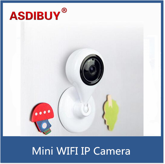 Small Wireless Wifi Ip Camera Home Security Baby C