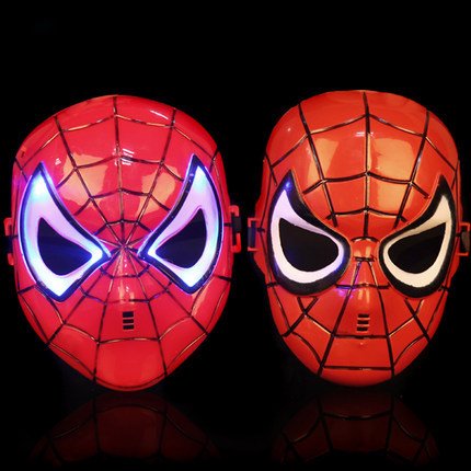 Halloween mask masquerade party spider-man male or female of Venice Triangle maple leaf flame crack mask(China (Mainland))