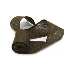 2M Jute Burlap Ribbon Roll for Christmas Decoration