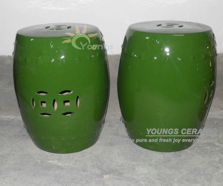 Kruk Stoel : Ceramic Garden Seat Stool