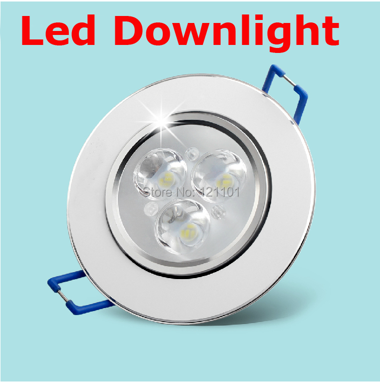 9W 12W 15W Led downlight AC 85-265V LED Ceiling Downlight Recessed LED Wall lamp Spot light With LED Driver For Home Lighting(China (Mainland))