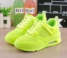 2016 New arrival Fashion Women shoes Casual Air cushion shoes jogging shoe zapatillas hombre Runner Gym  shoes NY73