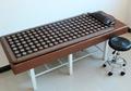 2015 Electric Heating Massage Mattress tourmaline Stone Mattress beauty Mattress Therapy spa Tourmaline Mat For Sale
