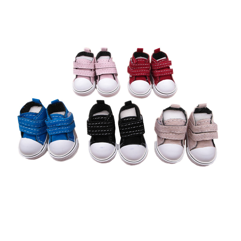 12 pairs/lot Mini Toy Doll Shoes For BJD Doll Mini Doll Boots 1/6 Frosted PU Sneakers Shoes for Tilda Doll,New Arrival Wholesale(China (Mainland))
