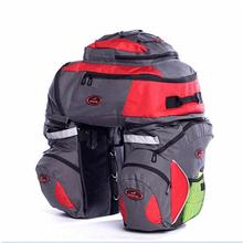 High-grade Multifunction Big Bicycle Bags Load Seat Bike Bag Pannier Waterproof Cover Long Distance Hiking Removable Cycling Bag(China (Mainland))