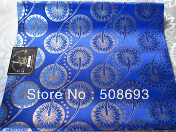 free shipping royal blue latest design best quality sego headtie for market african headtie 2pc/bag pretty good for occasion