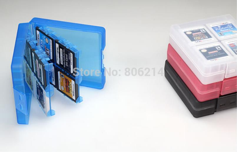 Free&Fast Shipping 16 in 1 Protective Game card Cartridge Holder Case Box For Nintendo DS / DS Lite / DSi / 3DS / 3DS XL/LL(China (Mainland))
