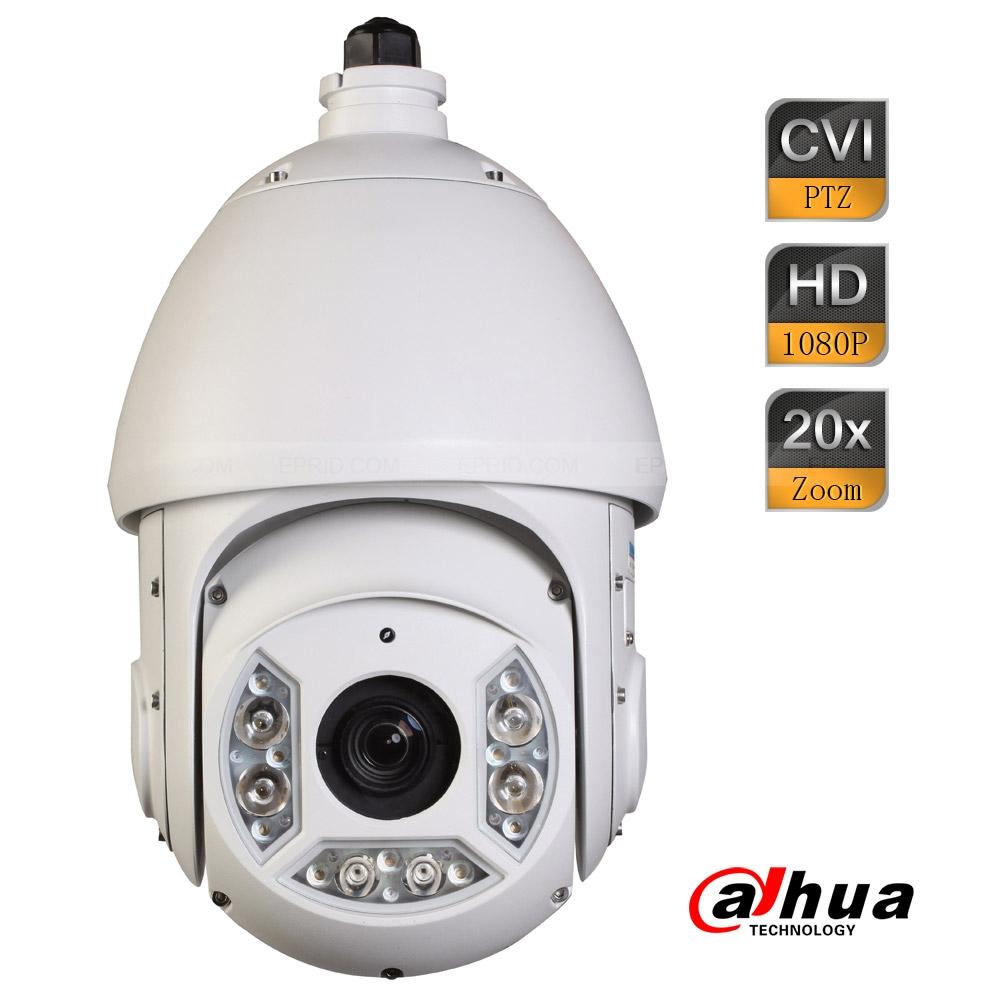 Dahua 2Mp 20x Full HD 1080P HDCVI 100m IR 4.7mm-94mm Lens PTZ Dome Camera<br><br>Aliexpress
