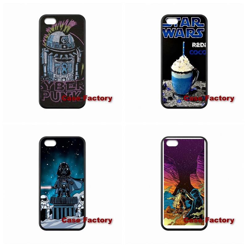 Coque Star Wars R2D2 Samsung Galaxy S3 S4 S5 S6 mini Note 3 4 5 S7 Edge E5 E7 Xiaomi Redmi 2 Mi5 Sony Xperia C C3 M2  -  My Phone Cases Factory store