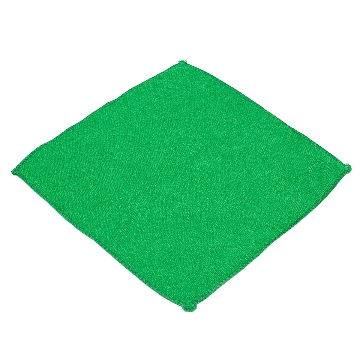 10pcs Green Microfibre Cleaning Auto Car Detailing Soft Cloths Wash Towel Duster(China (Mainland))