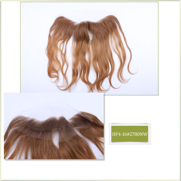 HP4 fast delivery remy hair piece two tone brown color in stock for women(China (Mainland))
