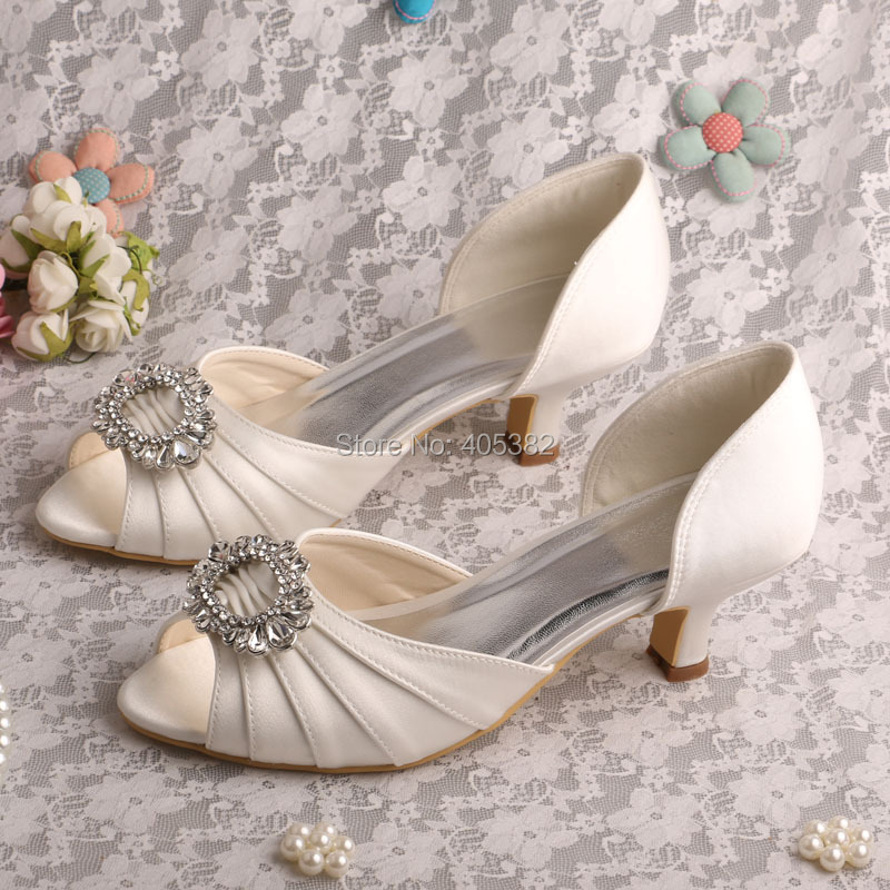 Satin. Buy the latest Wedding Shoes For cheap prices, We carry the latest trends in Wedding Shoes to show off that fun and flirty style of yours.