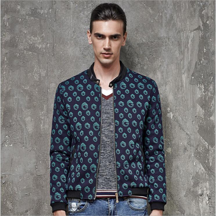 Men Jacquard Cardigan Jacket 2015 Spring Autumn Hitz Letter Decorative Casual Outerwear Jacket Coat Fashion Designer M~3XLОдежда и ак�е��уары<br><br><br>Aliexpress