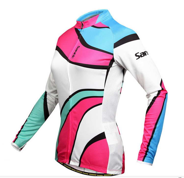 Women/Ladies High Quality Long Sleeve Bicycle /Cycling Sport Coat(China (Mainland))