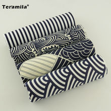 Black and White Color 4 Pieces Cushion Cotton Curtain Fabric Bundle Beautiful Design Bed Quilting Bedding Lady Dress Sewing Toy(China (Mainland))