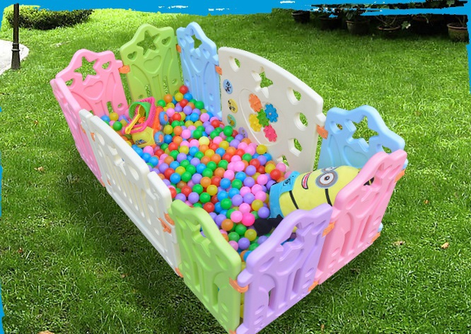 Special family kindergarten baby playpen More color and colorful style 6 small fence(China (Mainland))
