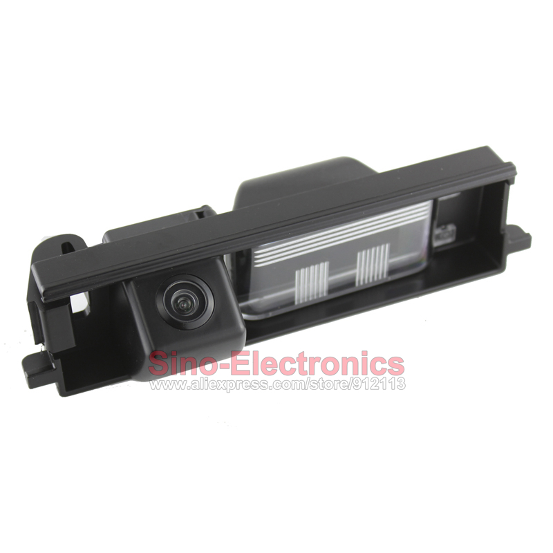 CCD Rearview Camera for Toyota RAV4/Auris/ Chery Tiggo Reverse camera Backup camera Waterproof Night vision Parking line display(China (Mainland))