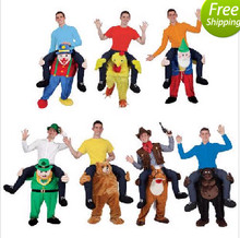 2016 New Mascot Unisex Novelty Carry Me Ride on Costume Animal Funny Fancy Dress Pants()