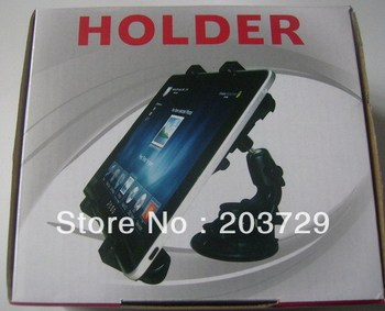 Universal Holder Stand For IPad MID GPS Netbook DV Stand Holder For Car BY Air Mail Free Shipping-no charger