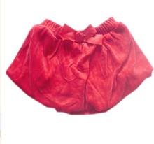 Freeshipping,retail,baby girls' red Princess cake buds mini bows skirts(China (Mainland))