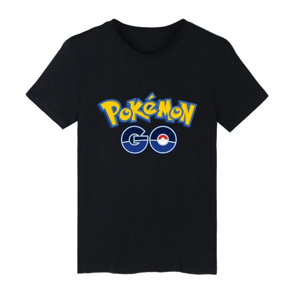 New Hot Lover s T shirts font b Pokemon b font font b Go b font