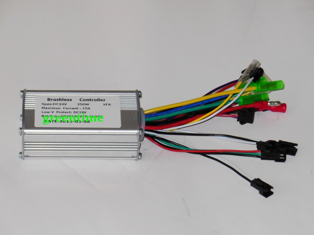 buy greentime 24v 250w brushless dc motor On brushless dc motor controller