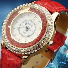 women watch Quartz wristwatches Gogoey Brand Luxury Leather Watches Ladies Casual fashion Dress gold Watch relogios femininos