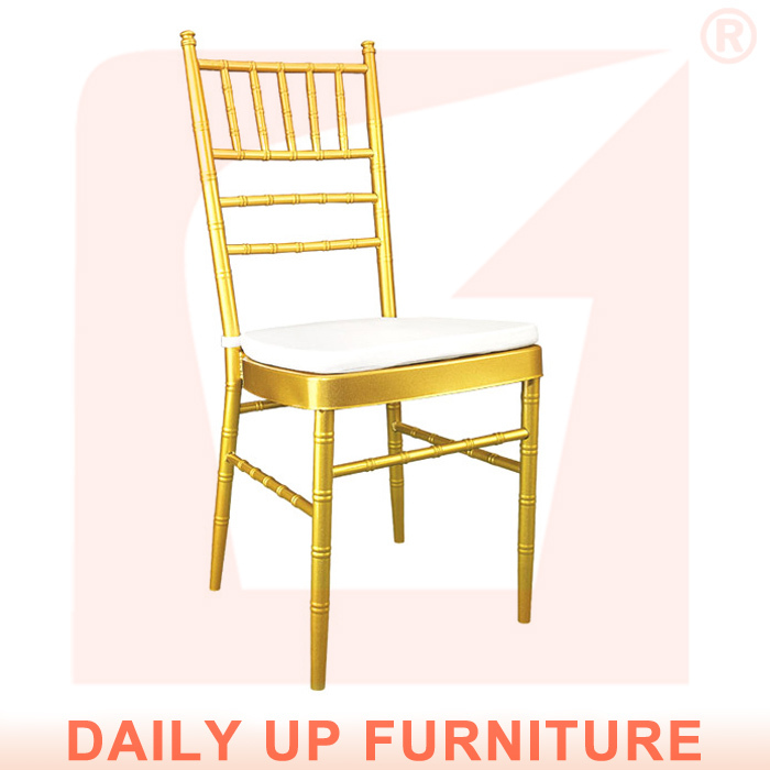 Upholstered Restaurant Chiavari Chair Banquet Cushions Hotel Stackable Tiffany - Daily Up chair store