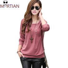 2015 Kimisohand 1PC New Arrival fashion sexy women casual loose bat sleeve cotton T-shirt shirt shirt plus size XL T shirt