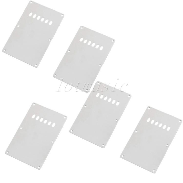 5Pcs Genuine Trem Cover for Fender Strat Guitar White Accessories(China (Mainland))