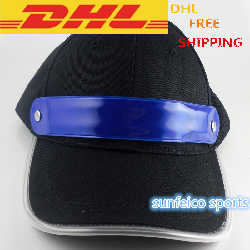 Led Light Baseball Cap-7 Led Colors-Attractive & Hot Design-Hip-Hop Hat-Led Cap With 2 Batteries(China (Mainland))