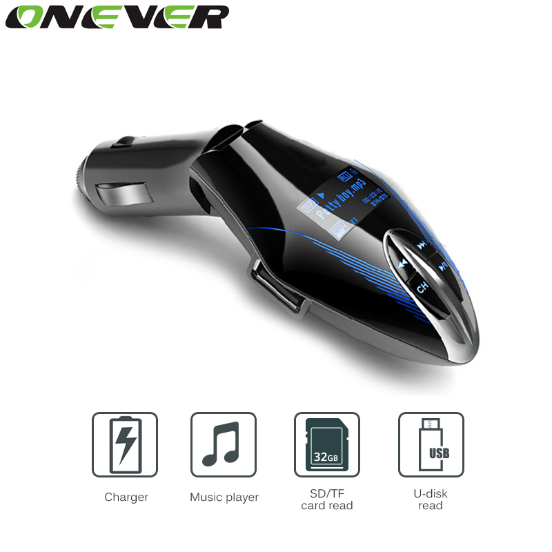 Car Mp3 Player Wireless FM Transmitter 3 Colors LCD Screen Car Audio MP3 Player Music Player FM Modulator With Remote(China (Mainland))