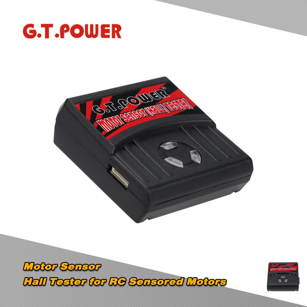 G.T.POWER Professional Motor Sensor Hall Tester for RC Quadcopter Aircraft Drone Car Sensored Motors RC Hobbies Parts(China (Mainland))
