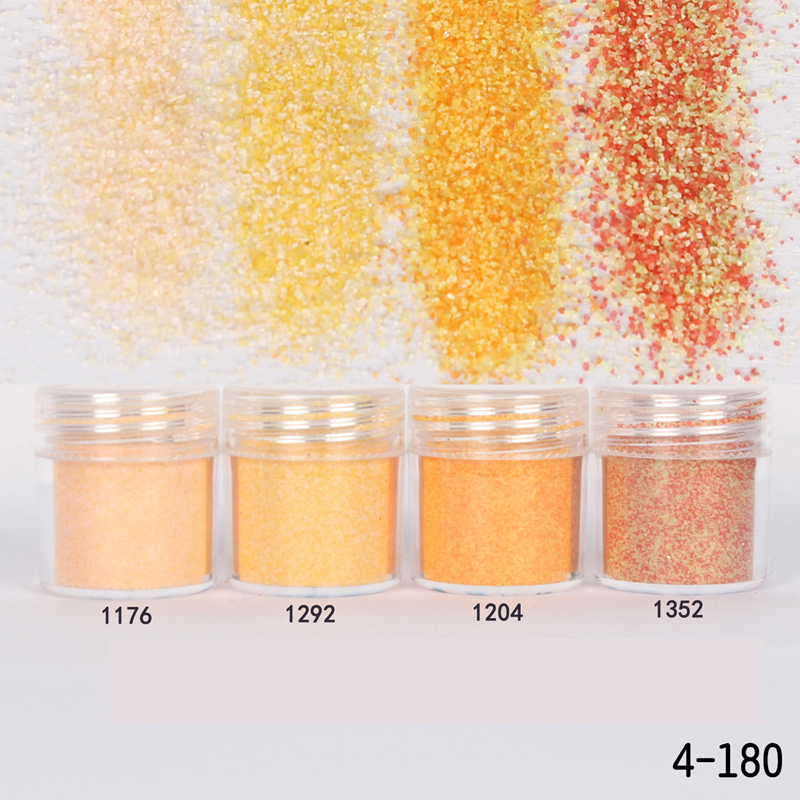 1Box Champagne Dazzling Finest Sugar Nail Glitter Powder Acrylic Powder Sheets Nail Dust Tips 3D Nail Art Decoration 10ML(China (Mainland))