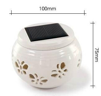 Color change Decration Sun Jar Solar Powered Lamp Shift Led Night Light Decor Novelty Gift free shipping(China (Mainland))