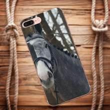 Vvcqod мягкая Художественная печать Лошадь Пони для Galaxy Alpha Core Prime Note 4 5 8 S3 S4 S5 S6 S7 S8 S9 mini edge Plus(China)