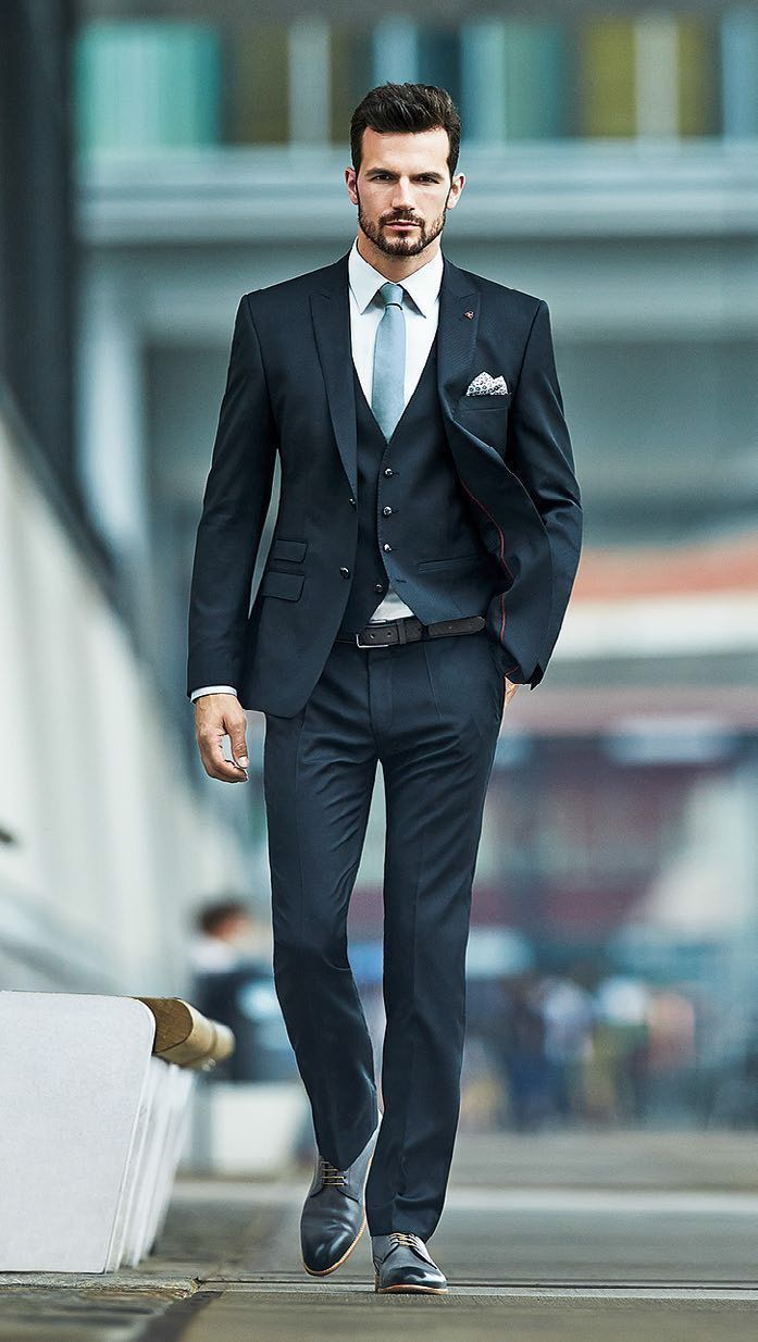 Здесь можно купить  2016 New Arrival Custom Made Business Men Suits Groom Wedding Formal Tuxedos Suits Traje De Hombre Casual Slim Jacket+Pants+Vest  Одежда и аксессуары