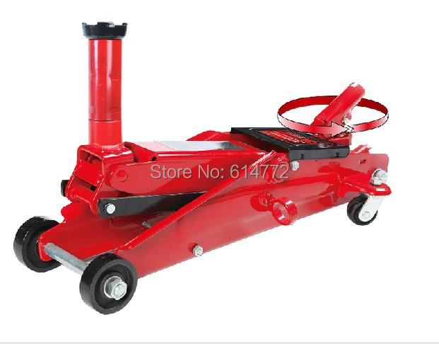 Horizontal hydraulic jack lifting tool Change tire tool 3 t SUV special,auto mobile car truck motor automobile jack tool(China (Mainland))