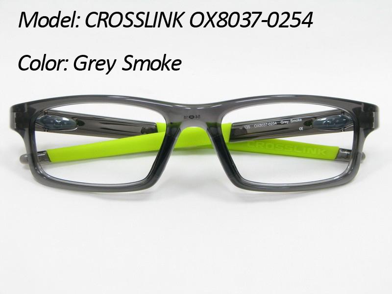 Здесь можно купить  Free Shipping Prescription RX Sports Glasses Eyeglasses Frames CROSSLINK OX8037-0254 OX8037 OX 8037 0254 Grey Smoke/Green 54mm  Одежда и аксессуары