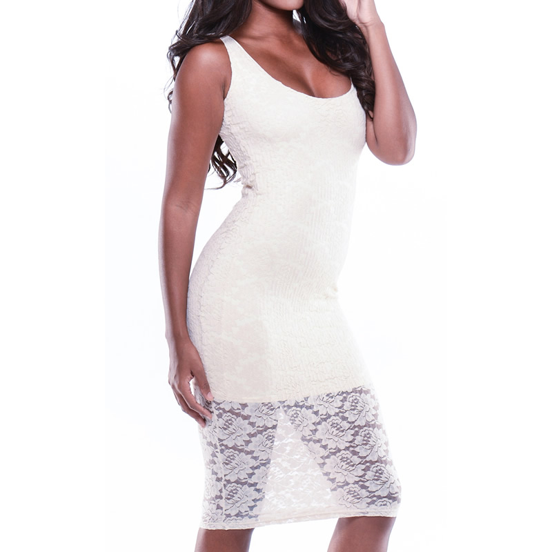 Free shipping!!!Cotton Sexy Package Hip DressesNew Arrival backless & different size for choice with Lace patchwork white(China (Mainland))