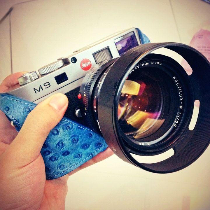 Genuine leather leica m9pm8m-e leica camera bag camera case handle quality(China (Mainland))