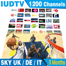 Italy Iptv,SKY Italy UK Deutsh IPTV Apk With 3 Months Subscription,Support Mag25 Smart TV,Android Tv 3RCA Cable Free Shipping