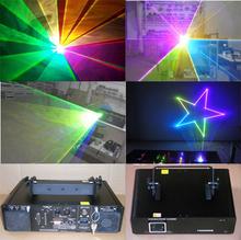 RGB 1500mW led Animation Laser Light 1500 rgb white mixed 1.5w full color LASER ilda 25kpps Disco Stage Lighting, free shipping(China (Mainland))